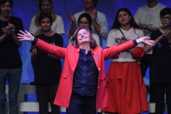 La Republique En Marche (LREM) head of the list for the European elections baptized