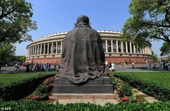 Indian laws bar people from contesting an election if they have been convicted while in office for crimes that carry jail terms of two or more years, with some exceptions depending on the crime. — AFP