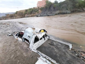 Heavy rain for the third consecutive day on Saturday caused floods in several areas of Jazan and other southern Saudi cities.