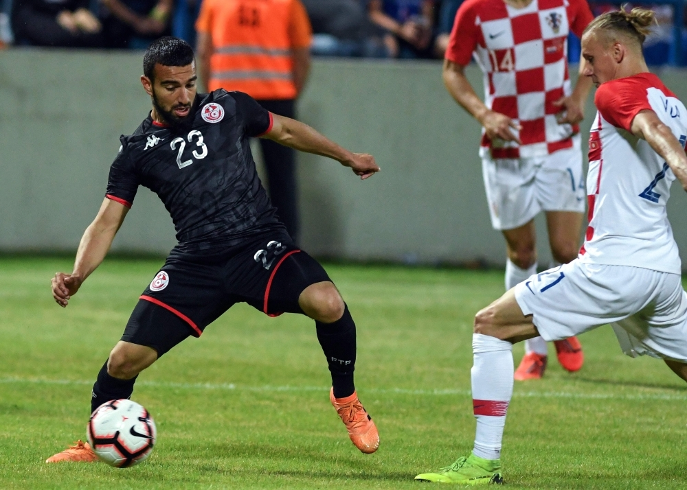Sliti penalty gives Tunisia surprise win in Croatia