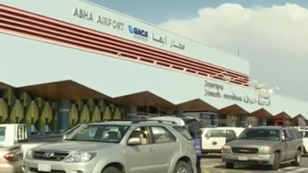 The Abha airport was damaged in an attack on its arrivals lounge by Houthi terrorist militias on early Wednesday morning. — File photo