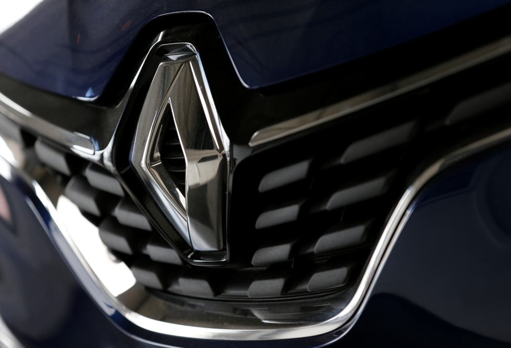 The logo of French car manufacturer Renault is seen at a dealership of the company in Bordeaux, France. — Reuters