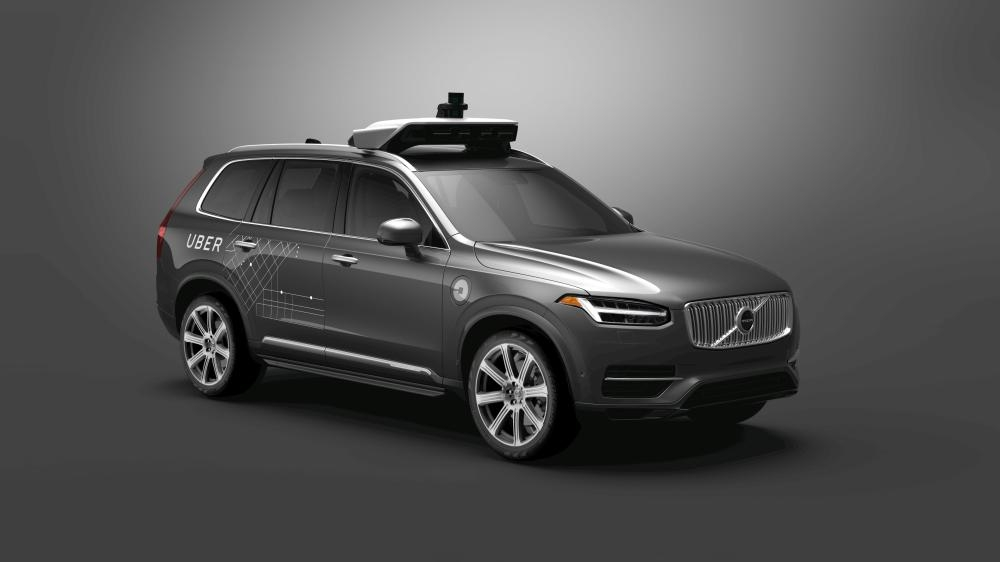 Uber Technologies Inc on Wednesday will unveil its newest Volvo self-driving car in Washington as it works to eventually deploy vehicles without drivers under some limited conditions.