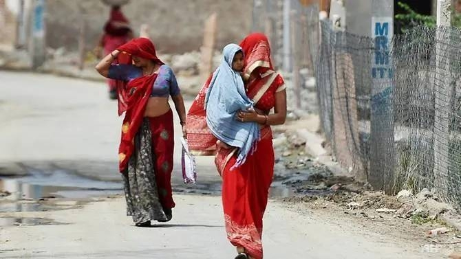 Large parts of northern India have endured more than two weeks of sweltering heat. — AFP