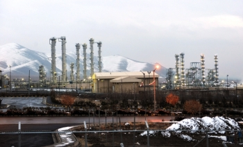 This file photo shows a general view of the water facility at Arak south-west of the Iranian capital Tehran. — AFP