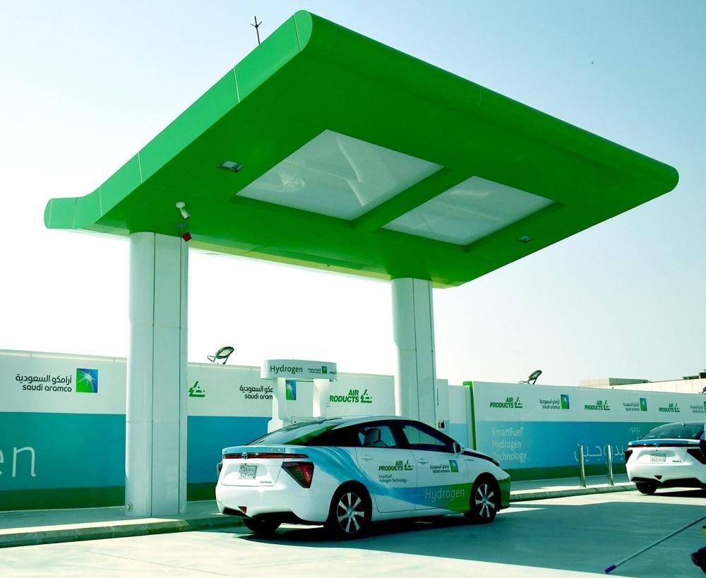 Saudi Arabia gets first hydrogen fueling station - Saudi Gazette