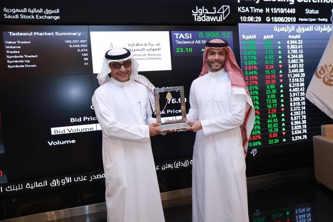 Tadawul lists Maharah Human Resources Company on the main market