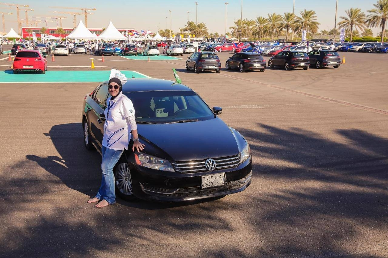 A single mother of two and a business owner who resides in Jeddah, Ammal Farhat has always felt passionate about the equality of women and the car club represents exactly that. — Courtesy photos
