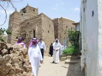 Weekly caravan trip is being organized every Tuesday to take the tourists to the historic sites in Asir. — Courtesy photo