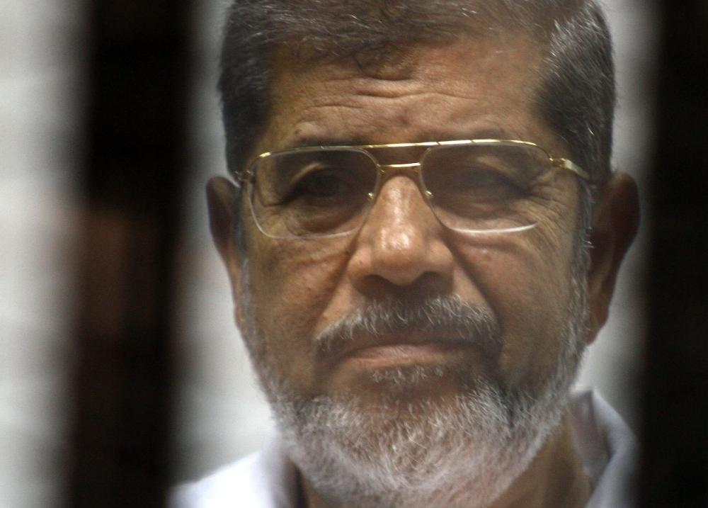 Egyptian former President Mohamed Morsi