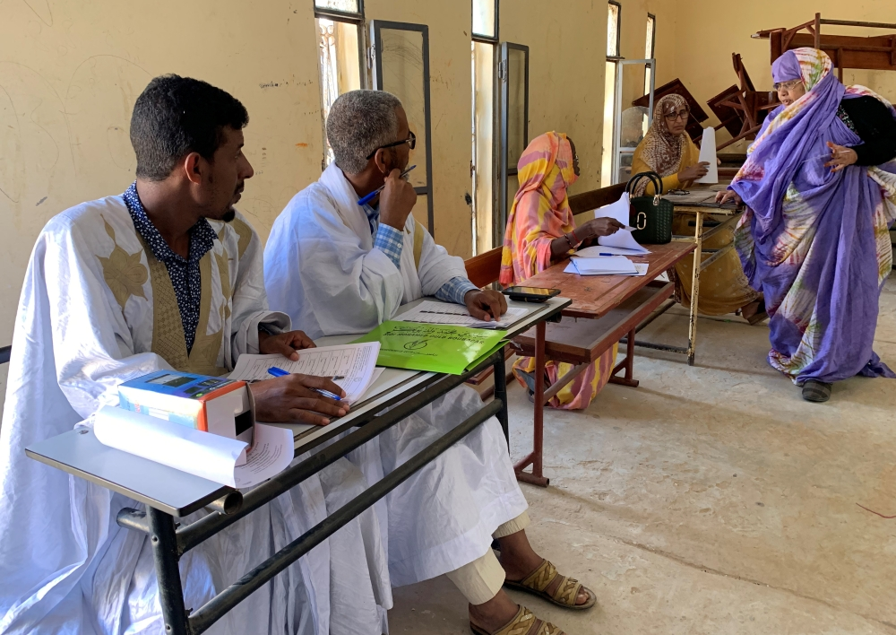 Mauritania heads to polls to elect new president