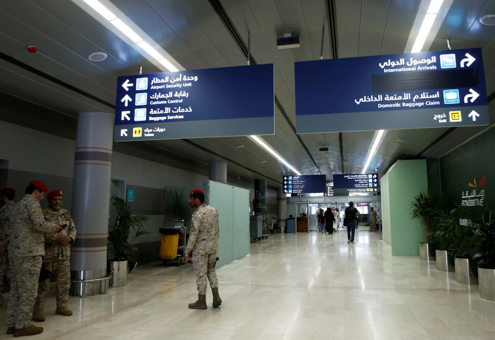 One killed, several wounded in attack on Saudi airport