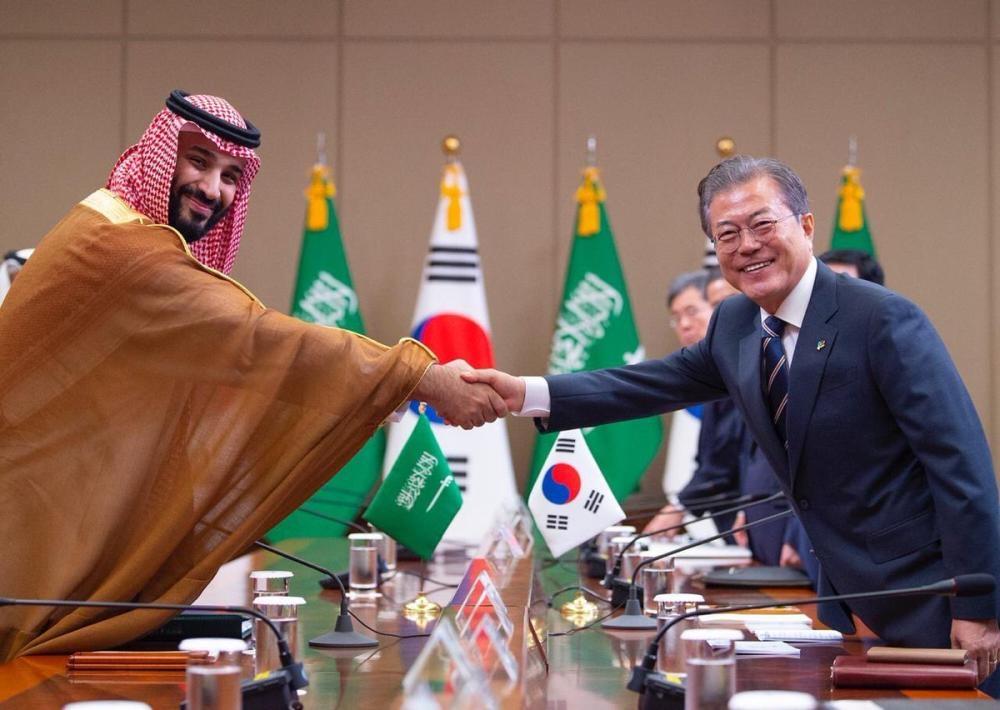 Trump tells Saudi crown prince he's doing 'a spectacular job'
