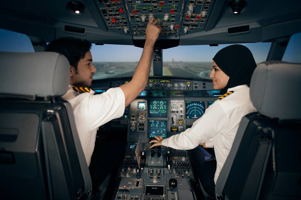 Global demand for airline pilots drives growth for Etihad's Aviation