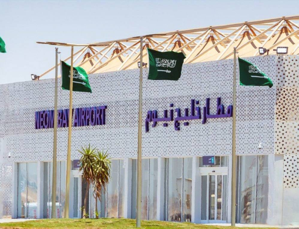 The Neom Bay Airport will be the first airport using the fifth generation (5G) wireless network service in the region.