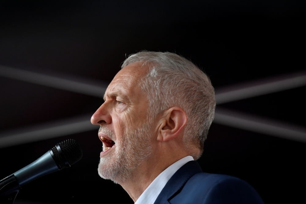 UK's Labour backs staying in European Union in call for second referendum