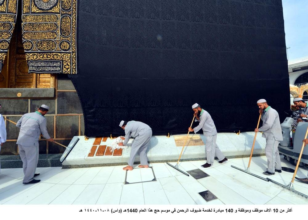 Presidency for the Affairs of the Two Holy Mosques has mobilized more than 10,000 men and women staff to implement its operation plans for the upcoming Haj.