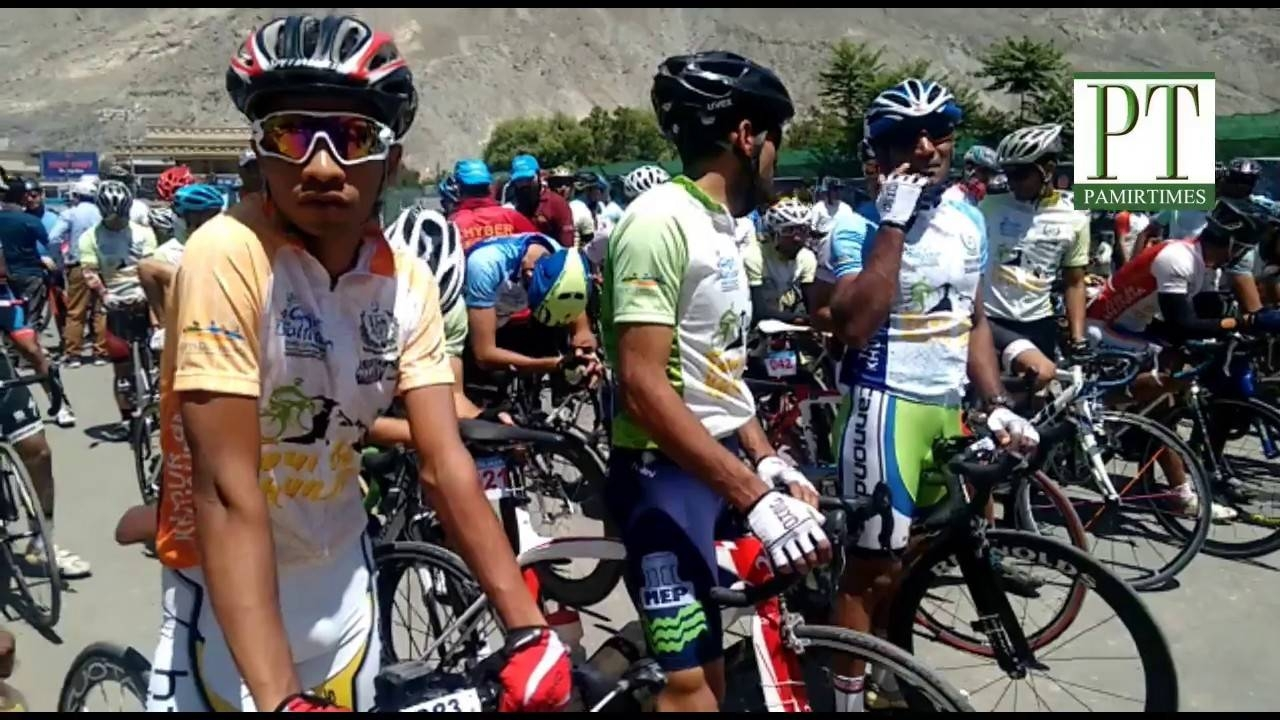 Tour de Khunjerab: A new Pakistani race presents a world-class challenge for cyclists — climbing towards the