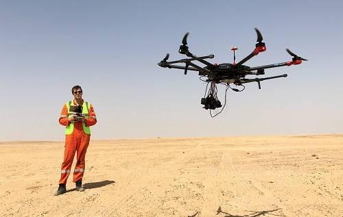 Terra Drone conducts drone survey in Fujairah