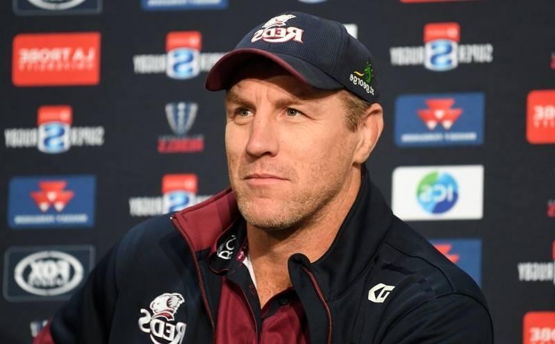 Queensland Reds coach Brad Thorn asks