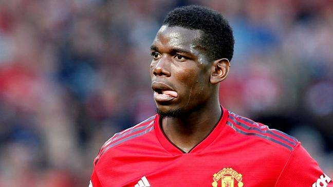 Manchester United's Paul Pogba during the Premier League against Cardiff City at Old Trafford, Manchester, Britain, in this May 12, 2019 file photo. — Reuters