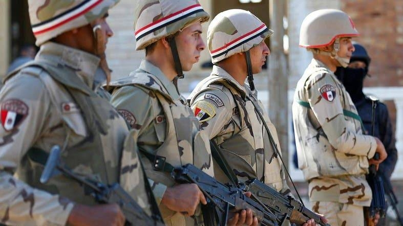 Egypt's security forces are seen in North Sinai in this file photo. — Reuters