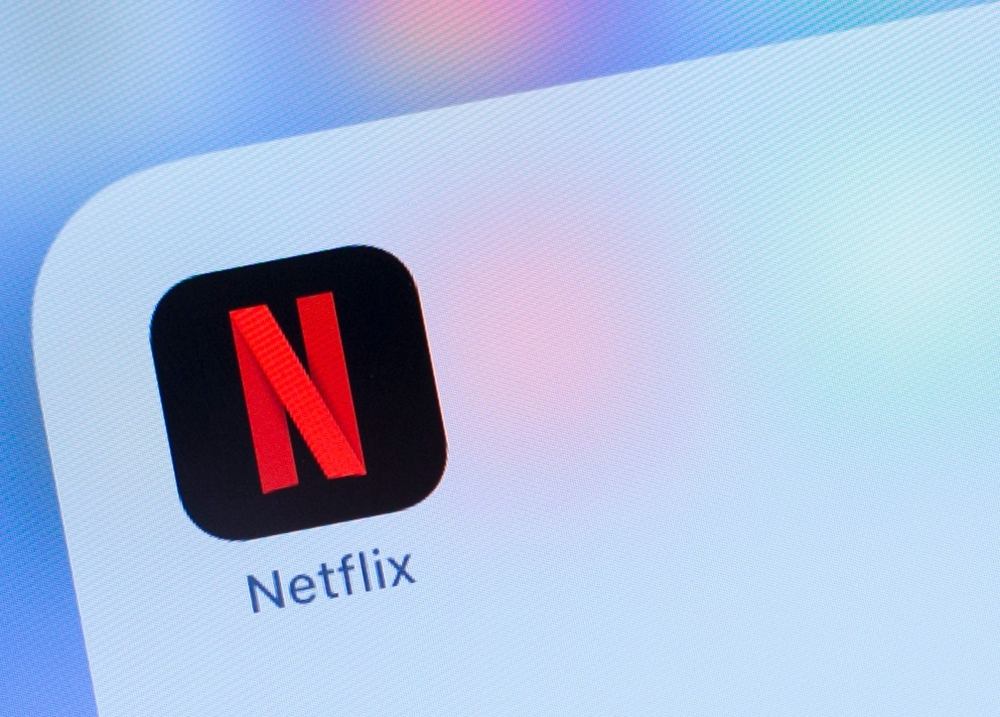 The Netflix logo is seen on a phone in this photo illustration in Washington in this July 10, 2019 file photo. — AFP