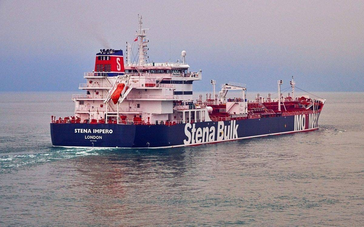 Stena Impero, a British-flagged vessel owned by Stena Bulk, is seen in this file picture. — Courtesy photo
