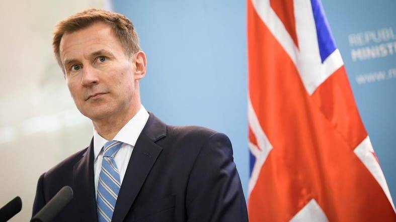 British Foreign Secretary Jeremy Hunt. -AFP photo
