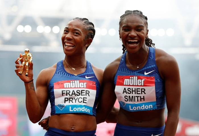 Sprint queen Fraser-Pryce cruises in London as Obiri shines in 5,000