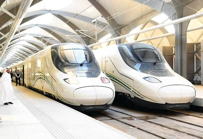 The train transports 3,800 passengers in an hour between Makkah and Madinah and 19,600 between Jeddah and Makah. In a year, it transports about 60 million passengers. — Courtesy photo