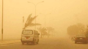 Scorching sun coupled with dust are commonly known as Al-Safi under which visibility decreases remarkably.— Courtesy photo
