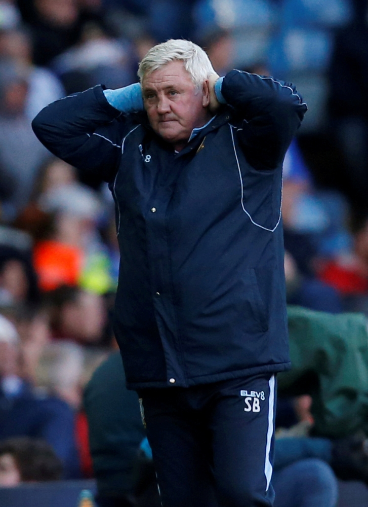 Sheffield Wednesday manager Steve Bruce reacts during Championship match against Leeds United at Elland Road, Leeds, Britain, in this April 13, 2019 file photo. — Reuters