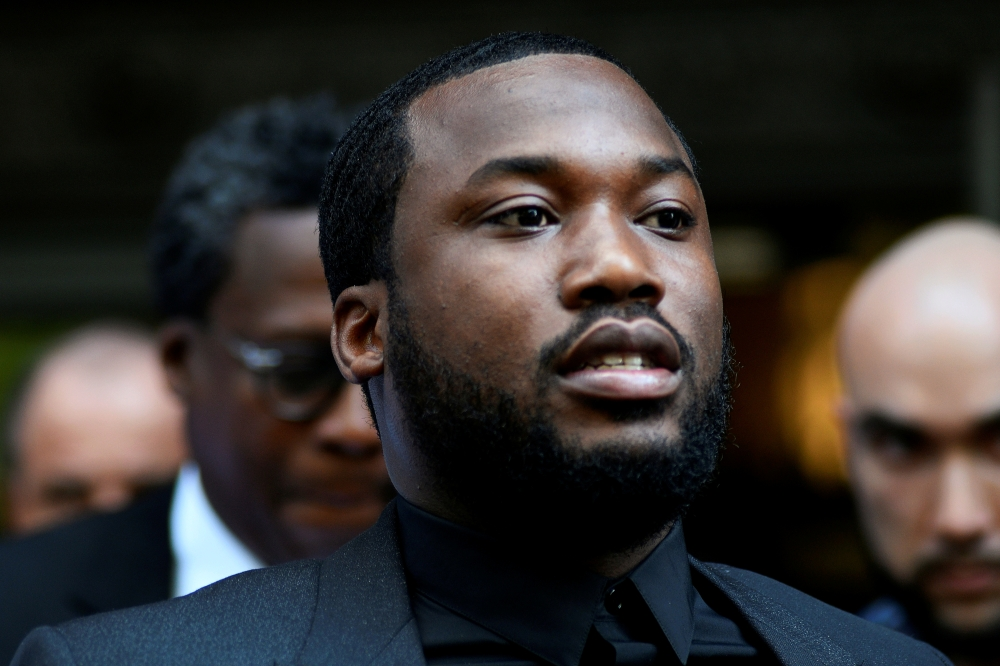 Rapper Meek Mill departs after lawyers from both sides made a brief statement to the judge in a retrial hearing in court in Philadelphia, Pennsylvania, in this July 16, 2019 file photo. — Reuters