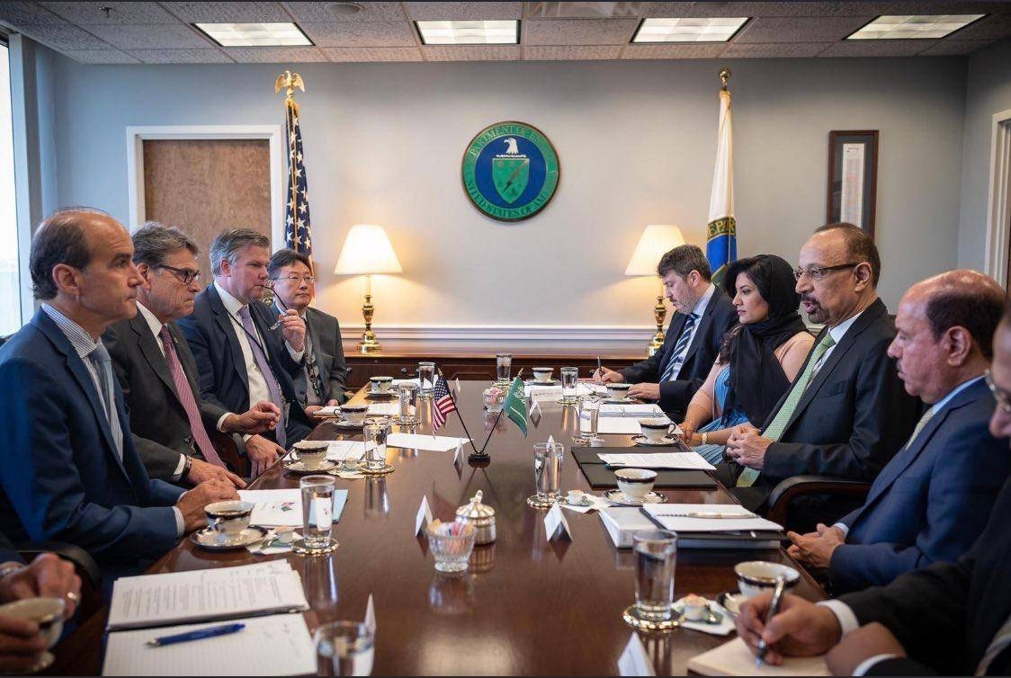Saudi and US teams holding talks in Washington. — Courtesy photo