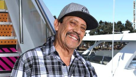Danny Trejo Helps Rescue a Baby Trapped in Overturned Car