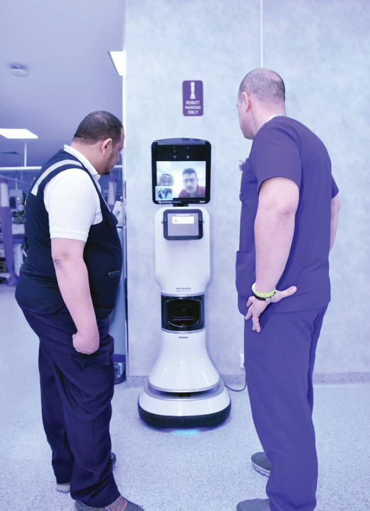 Haj goes digital with 'robots' linking pilgrims with doctors in Riyadh, Jeddah