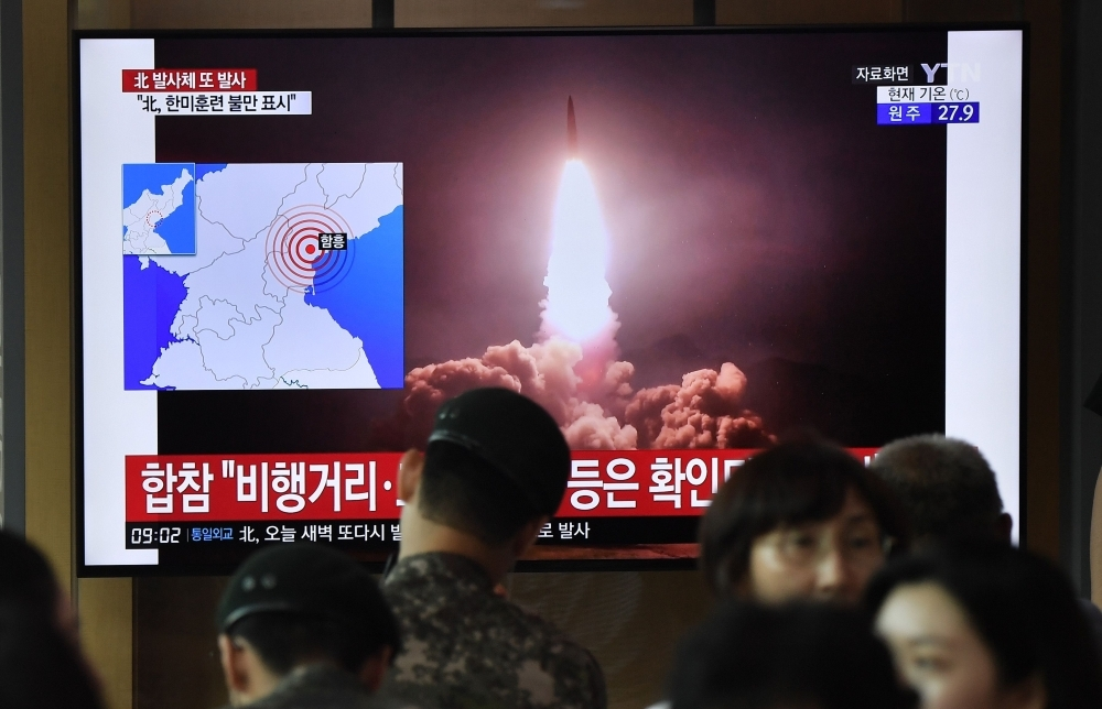 Kim supervised test-firing of 'new weapon'