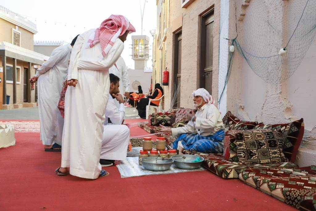 The pavilion represents an Emirati old quarter, with markets, products and distinctive folklore. –Courtesy photo