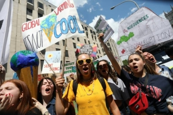 Over the last year, public concern over global warming has grown dramatically, sparked in part by an October UN report warning that only a wholesale overhaul of the global economy and consumption patterns can forestall climate chaos. -AFP
