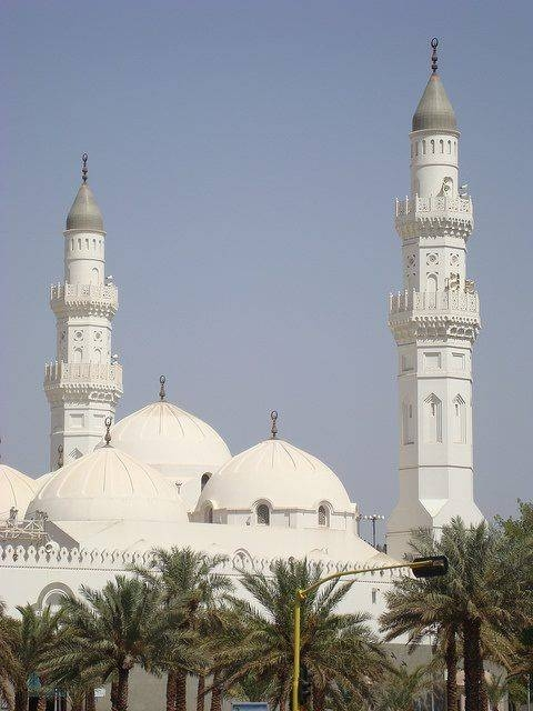 The pilgrims are always keen to visit the Quba Mosque and pray in it after paying homage to Prophet Muhammad (peace be upon him) and praying at his mosque. — Courtesy photo