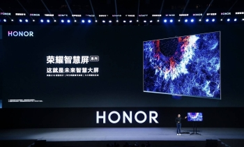 George Zhao, President of Honor, at the Honor Vision China Launch