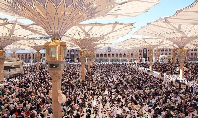Over 23,900 pilgrims have left for their respective homes by air from Prince Muhammad Bin Abdul Aziz International Airport in Madinah. — Courtesy photo