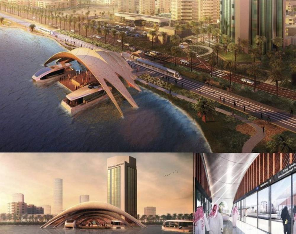 Sea taxi is among the three major projects in the pipeline and that also include Obhur Suspension Bridge and the Corniche Tram. — Okaz photo