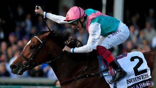 Enable bids a winning farewell to British turf at Darley Yorkshire Oaks