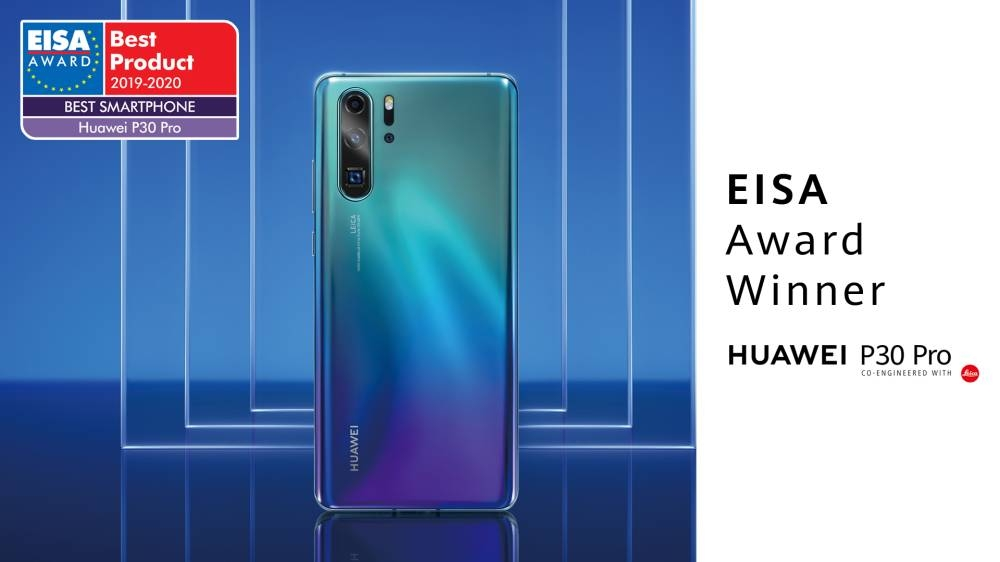 Best Smartphone For Business 2020 Huawei wins EISA's 'Best Smartphone of the Year' Award again