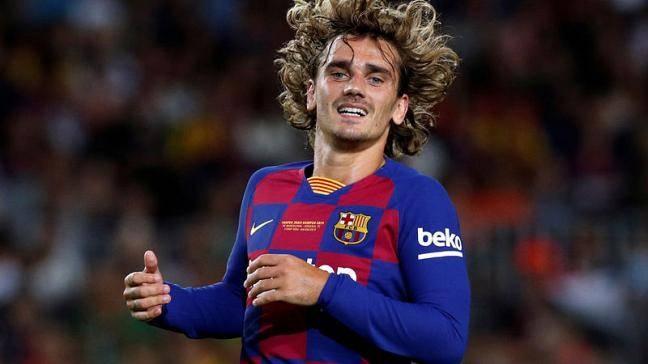 Barcelona forward Antoine Griezmann. — Reuters