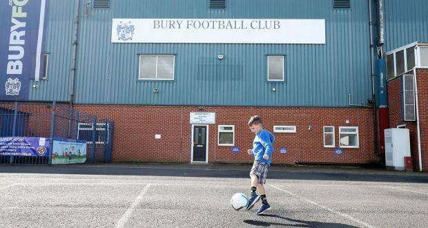 Bury have had their first six games postponed by the English Football League, been removed from the EFL Cup and face the very real prospect of being ejected from the league on Friday, which would mean League One proceeding this season with only 23 teams. — Courtesy photo