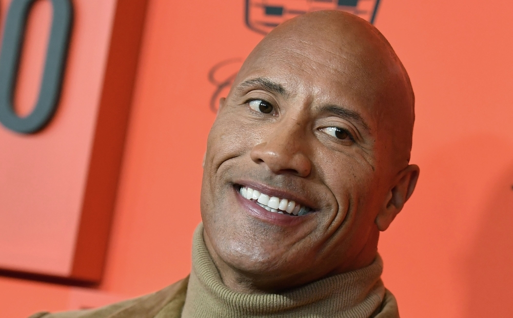 US actor Dwayne Johnson arrives on the red carpet for the Time 100 Gala at the Lincoln Center in New York in this April 23, 2019 file photo. — AFP