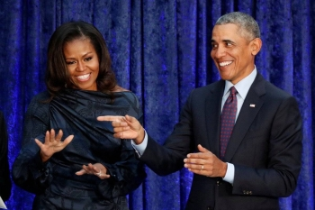 Former US President Barack Obama and his wife Michelle entered into an agreement with streaming giant Netflix last year. — Reuters